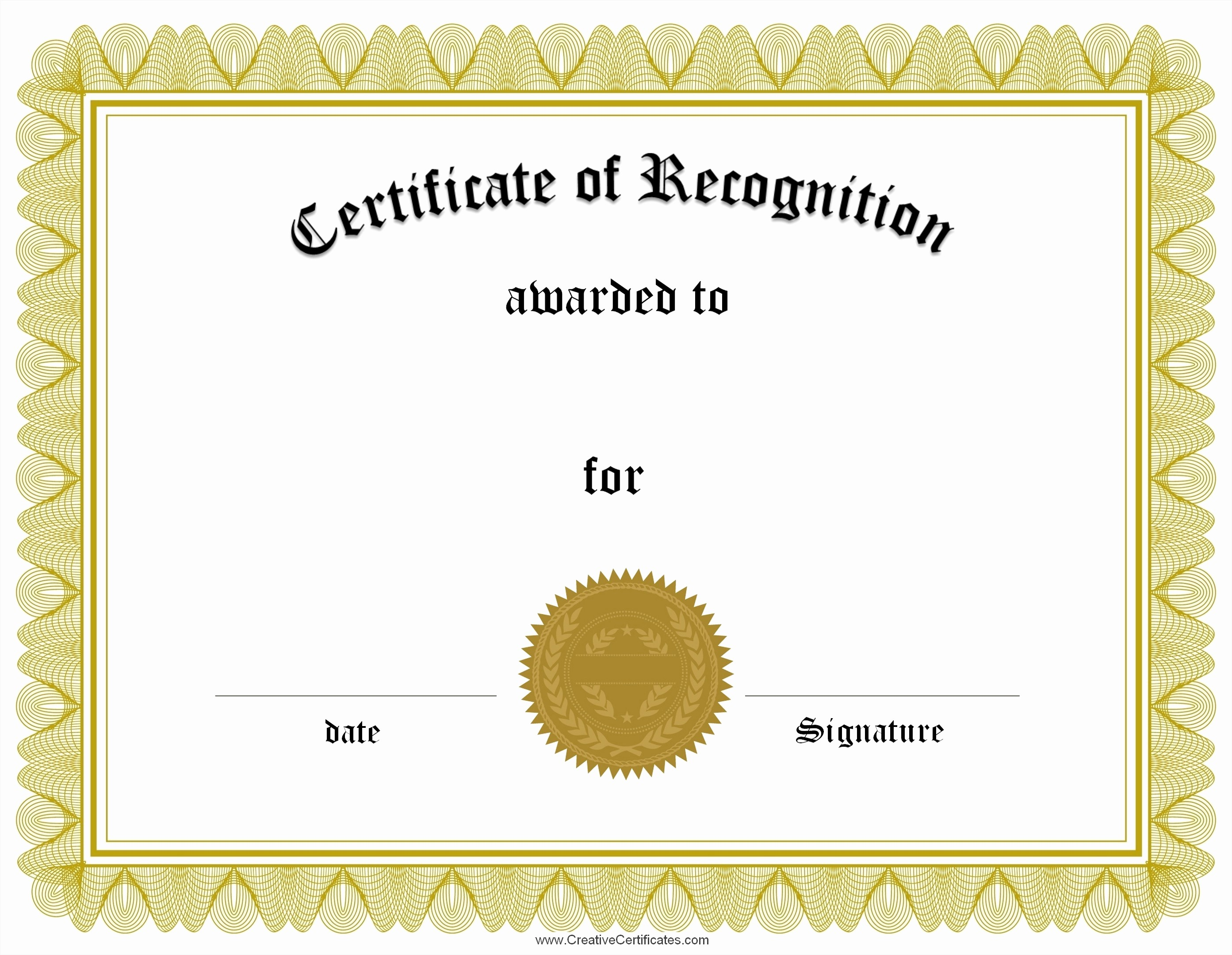blank certificates of pletion