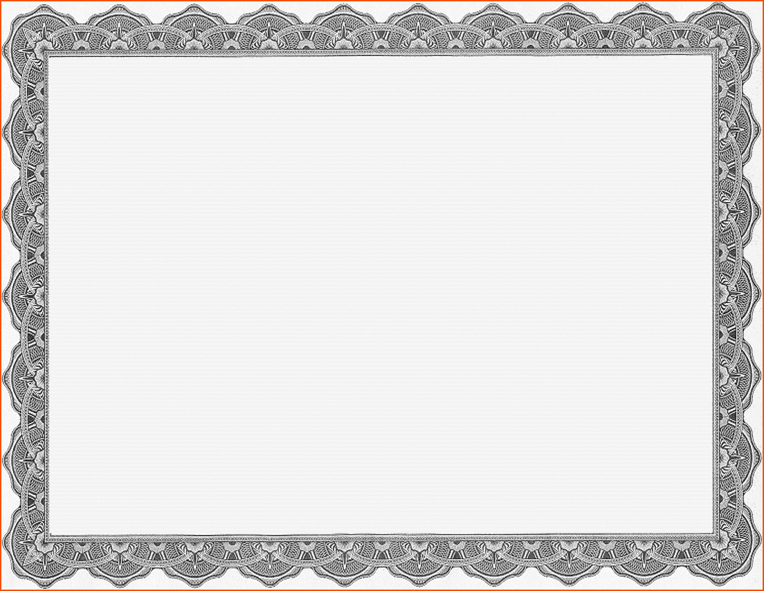 Blank Certificate Templates for Word Fresh 6 Certificate Award Template Bookletemplate