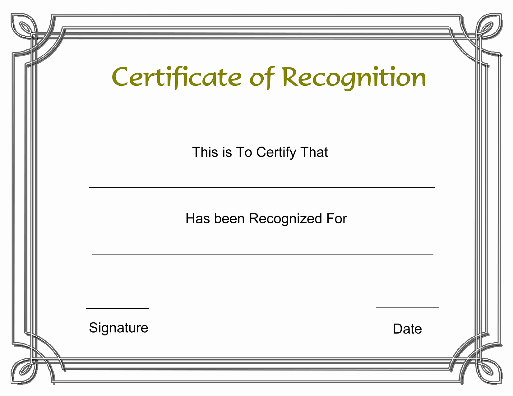 Blank Certificate Templates for Word Fresh Blank Award Templates Portablegasgrillweber