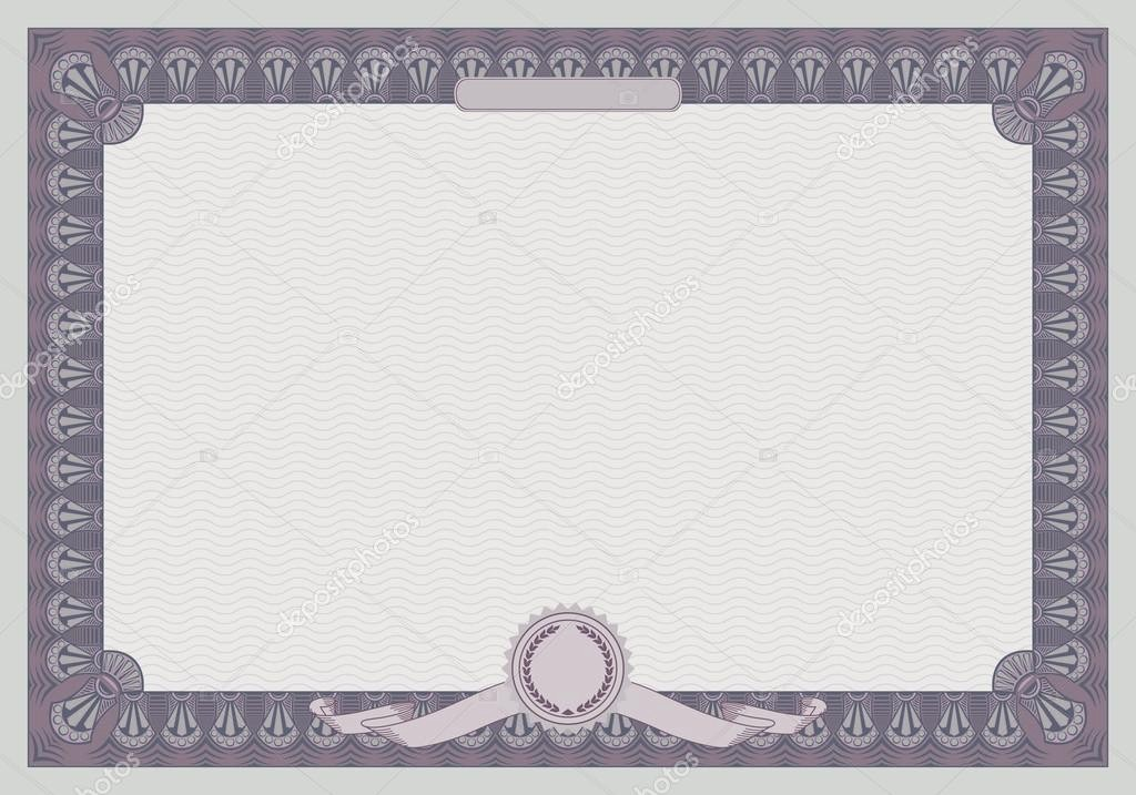 Blank Certificate Templates for Word Inspirational Certificate Templates without Borders