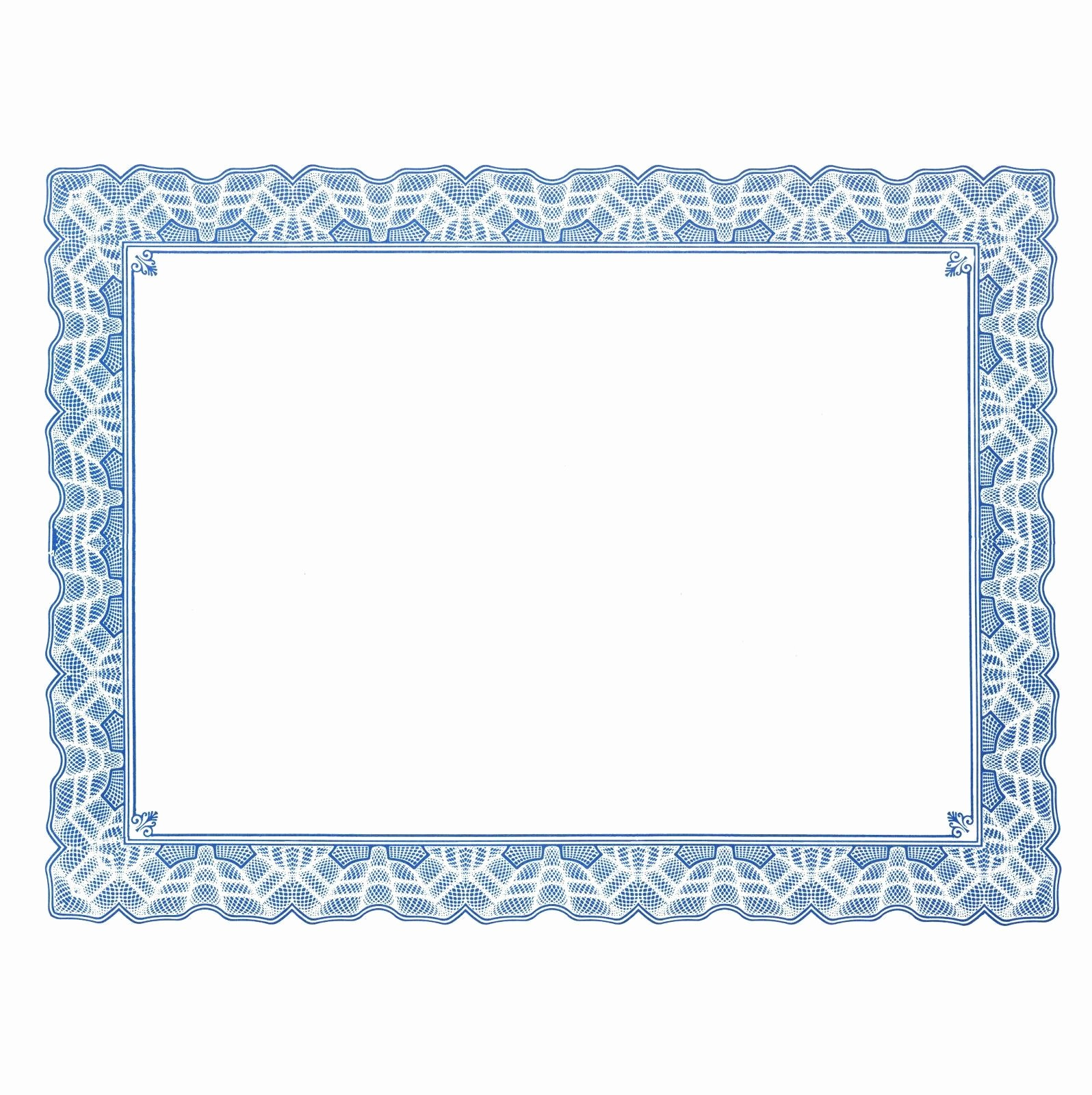 Blank Certificate Templates for Word Lovely Free Certificate Border Templates for Word