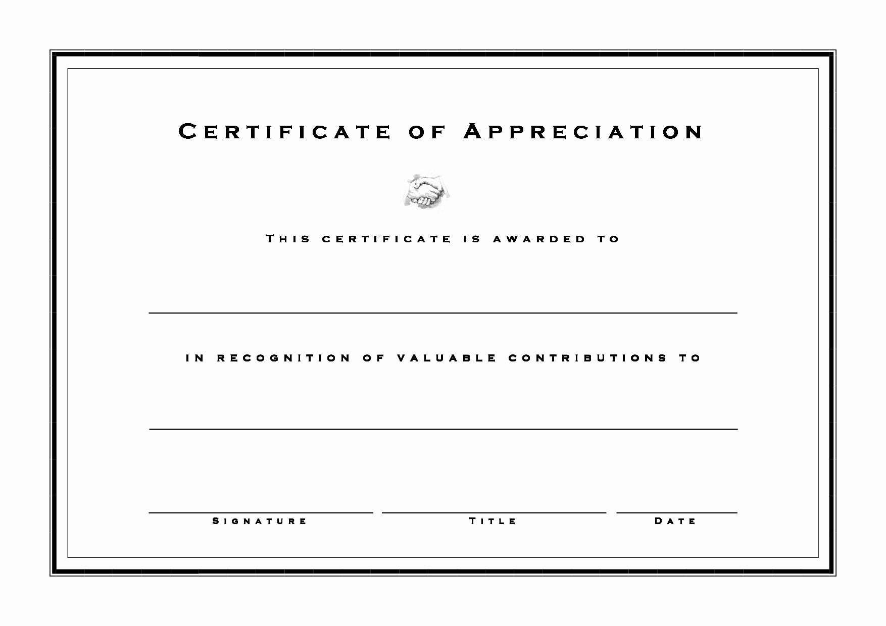 Blank Certificate Templates for Word Luxury Blank Award Templates Ms Word Cover Page Free Download