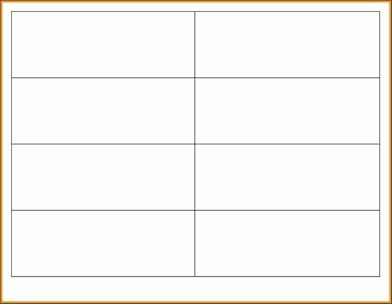 Blank Flashcard Template Microsoft Word Beautiful Flashcard Template Free Sight Word Flash Cards Printable