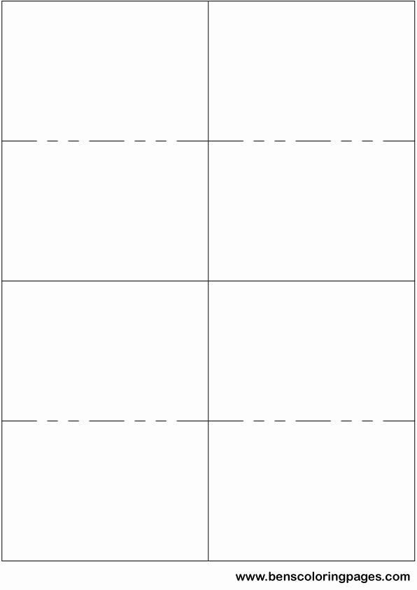 Blank Flashcard Template Microsoft Word Elegant Flash Card Template for Microsoft Word