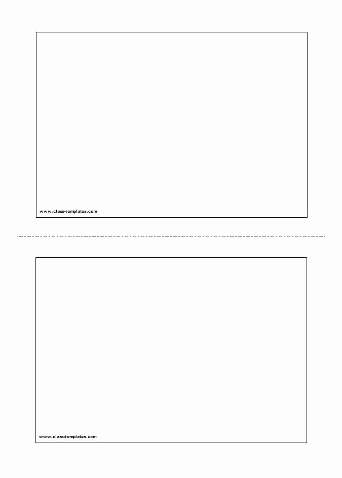 Blank Flashcard Template Microsoft Word Fresh Game Card Template Word