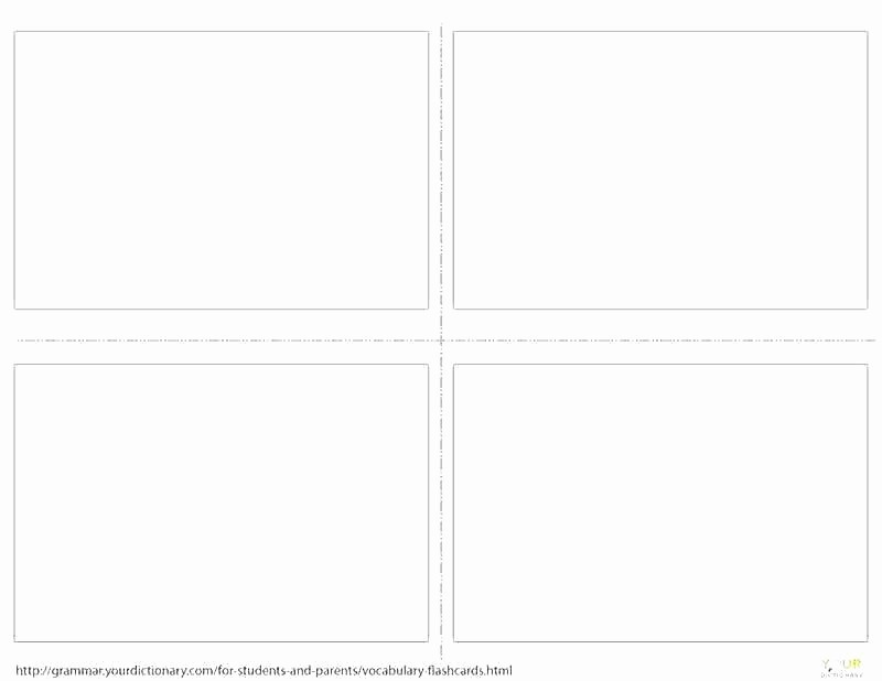 Blank Flashcard Template Microsoft Word Lovely Blank Flash Card Template Free Templates Printable Cards