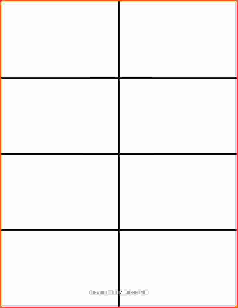 Blank Flashcard Template Microsoft Word New 004 Free Flash Card Template Printable Blank