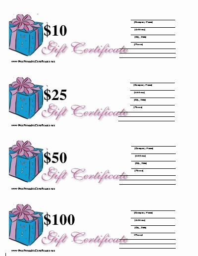 Blank Gift Certificates to Print Best Of Best 25 Blank T Certificate Ideas On Pinterest