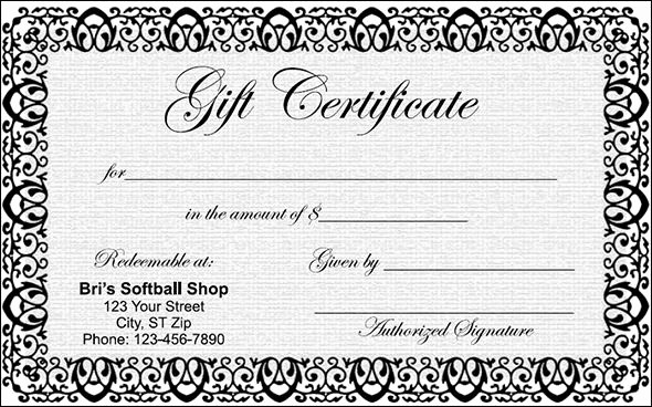 Blank Gift Certificates to Print Best Of Gift Certificate Template 29 Download Pdf Psd Word