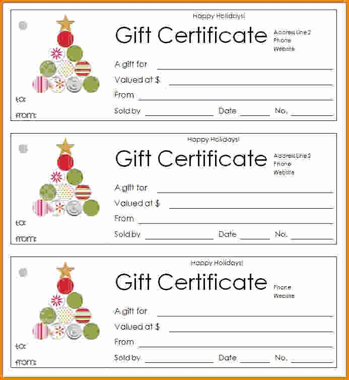 Blank Gift Certificates to Print Luxury 39 Gift Certificate Blank Template 100 Gift Certificate