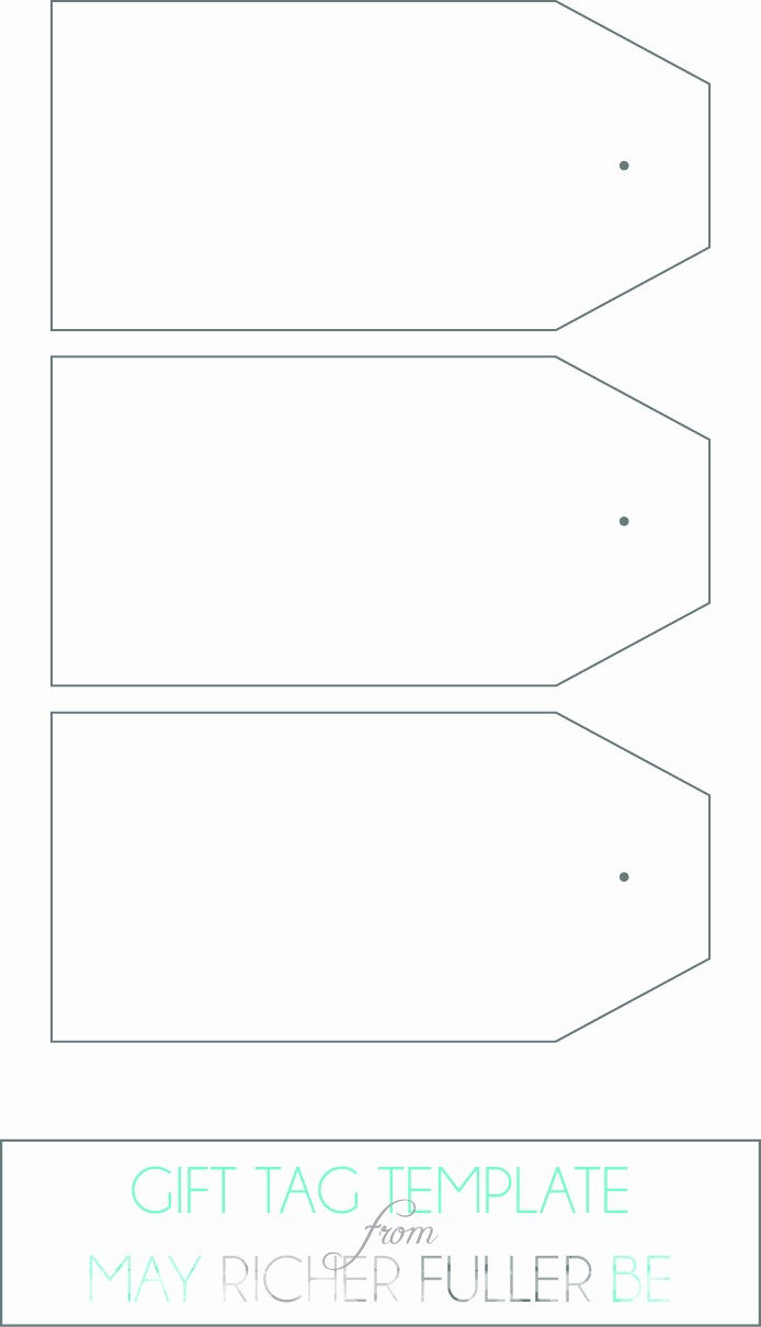 Blank Gift Tag Template Word Beautiful Printable Gift Tags Templates Word