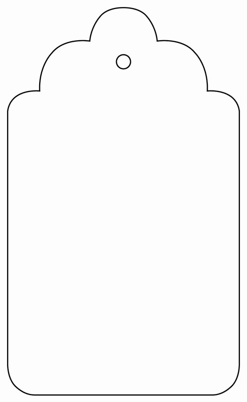 Blank Gift Tag Template Word Beautiful Templates Collection Express Yourself Diy