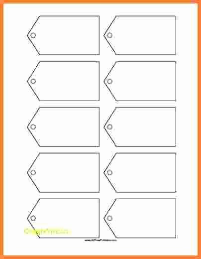 Blank Gift Tag Template Word Best Of Free Tag Templatesinspirational Blank T Tag Template
