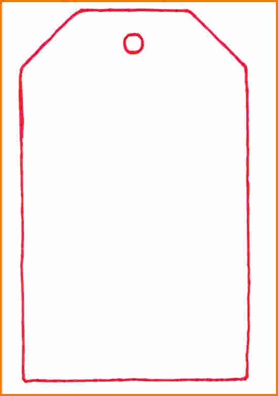 Blank Gift Tag Template Word Best Of T Tag Template Word