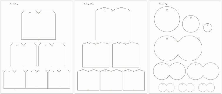 Blank Gift Tag Template Word Luxury 5 Gift Tag Templates to Create A Personalized Gift Tag