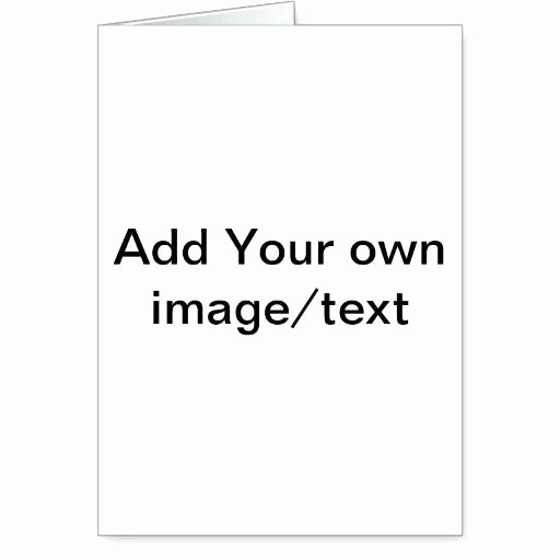 Blank Half Fold Card Template Awesome Half Fold Greeting Card Template Medium Small Four