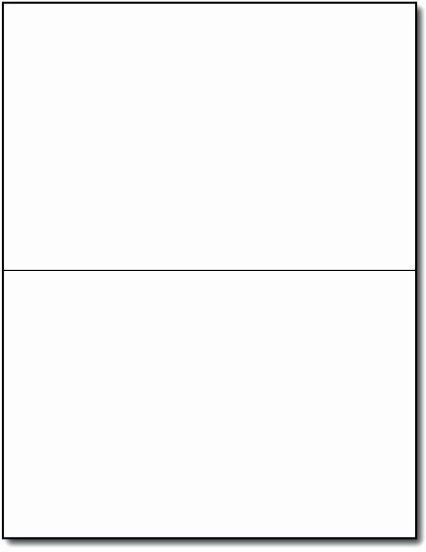 Blank Half Fold Card Template Best Of 4×6 Card Template – Jjbuildingfo