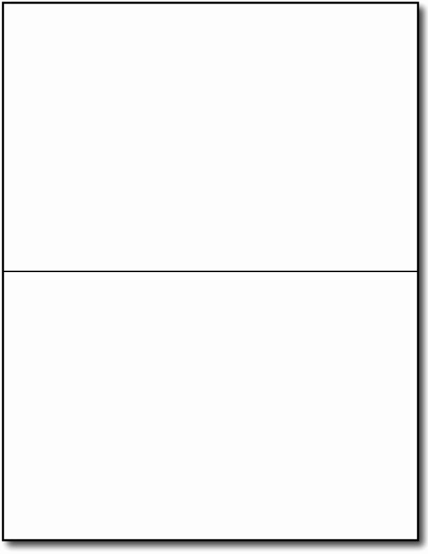 Blank Half Fold Card Template Elegant Blank Cards Template
