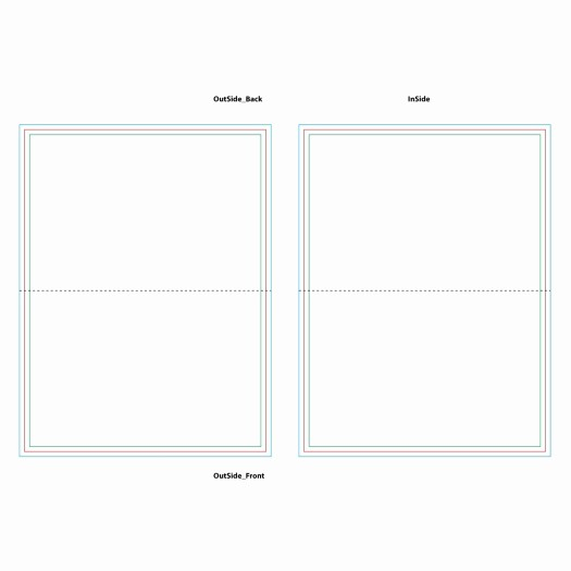 Blank Half Fold Card Template Lovely Blank Half Fold Card Template Nice Foldable Card Template