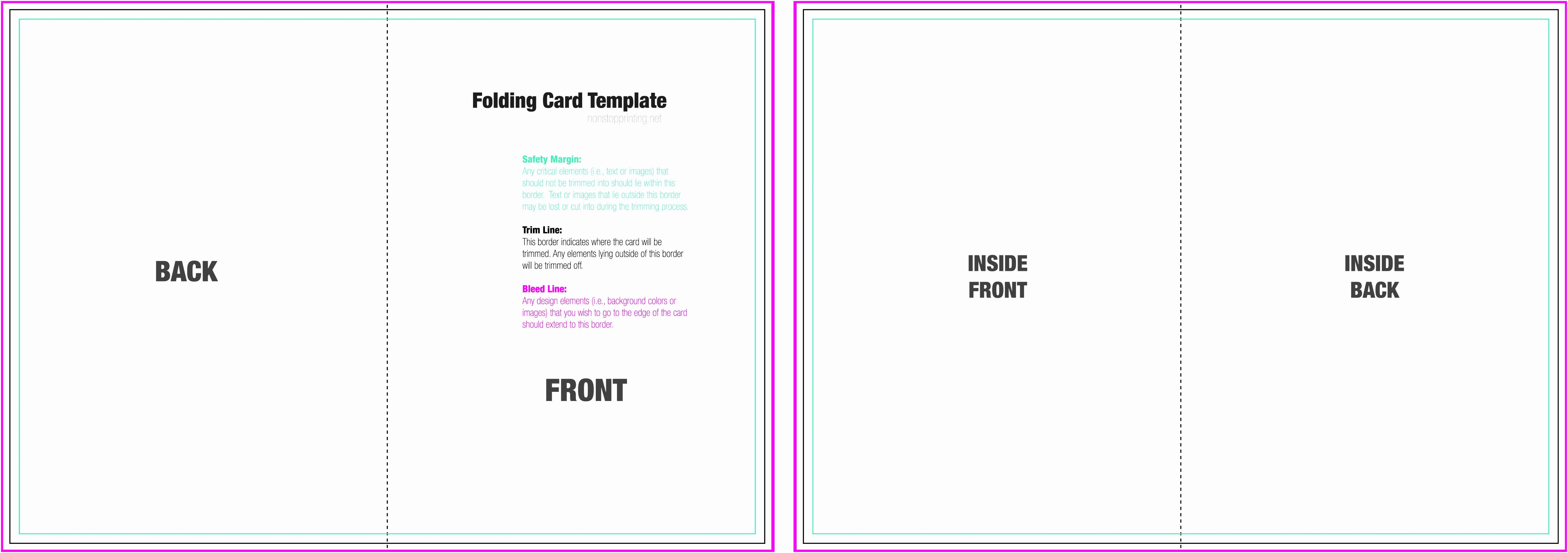 Blank Half Fold Card Template Luxury 12 Blank Half Fold Card Template Tutaa