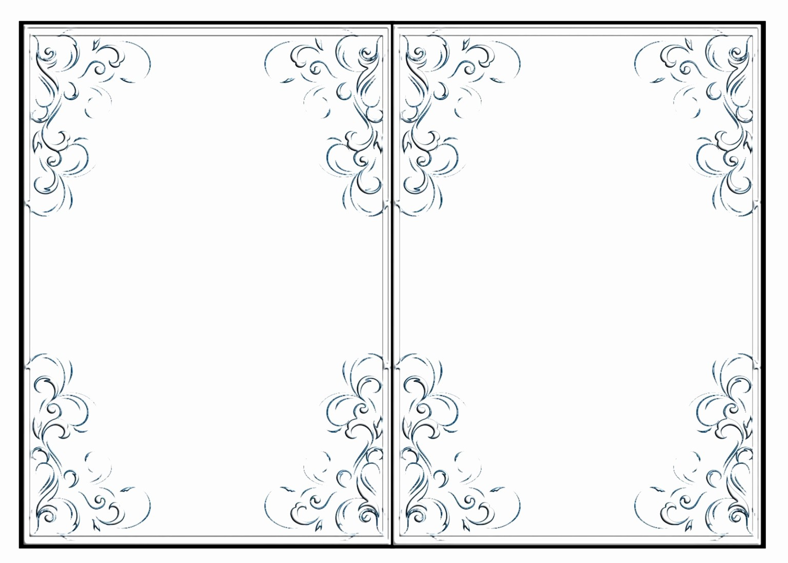 Blank Half Fold Card Template Luxury 12 Blank Half Fold Card Template Tutaa
