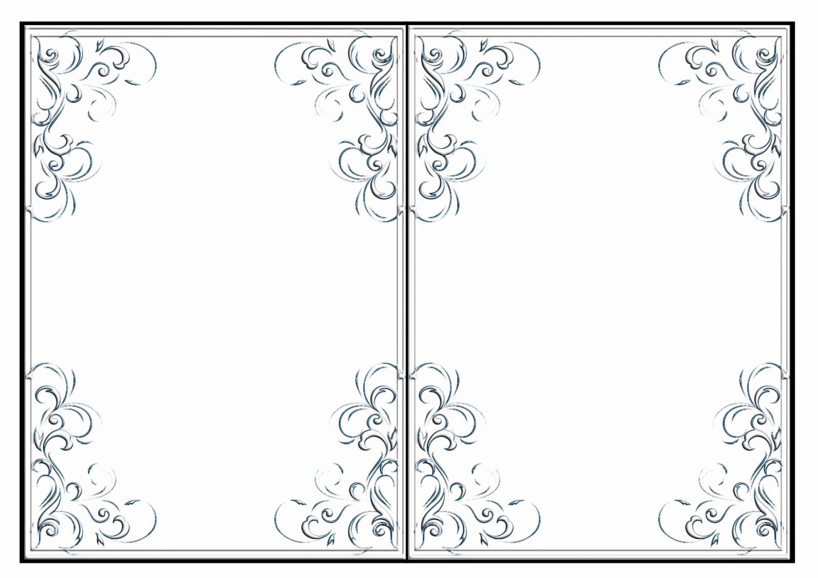Blank Half Fold Card Template Luxury Blank Half Fold Card Template Microsoft Word Calendar