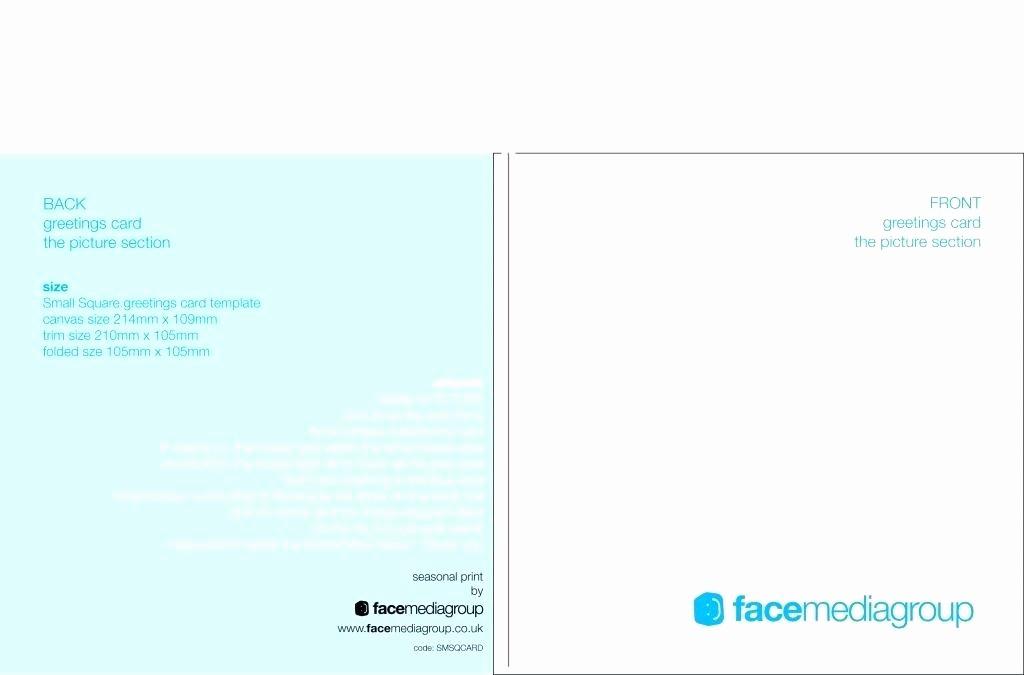 Blank Half Fold Card Template New Folded Greeting Card Template – Tatilvillam