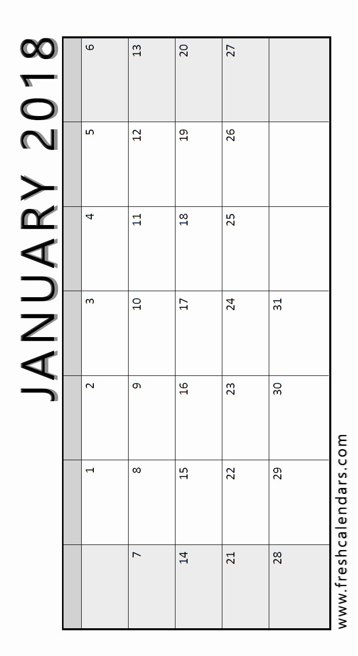 Blank January 2018 Calendar Printable Beautiful Blank January 2018 Calendar Printable Templates