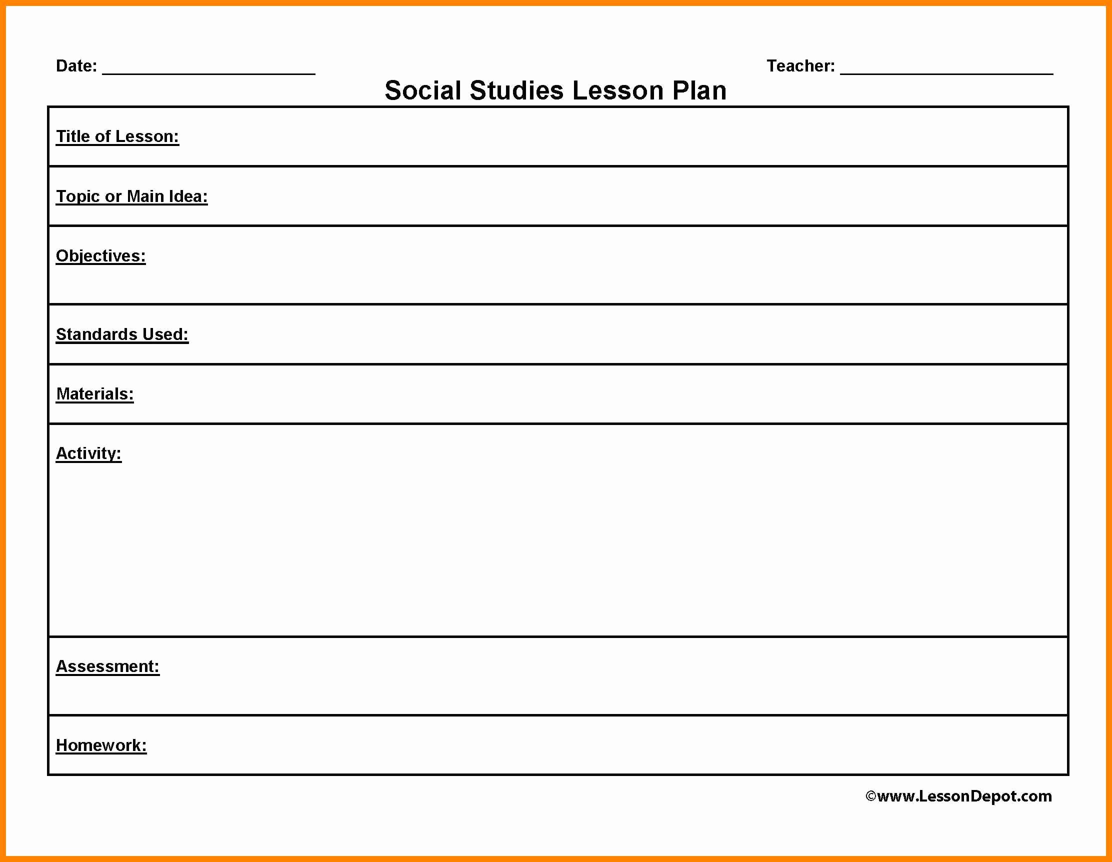 Blank Lesson Plan Template Word Best Of Blank Lesson Plan Template Uk Beautiful Template Design