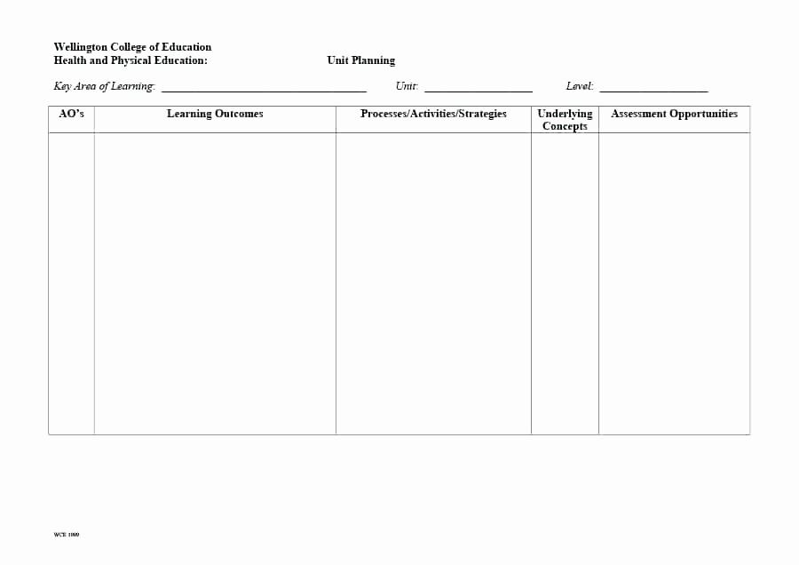 Blank Lesson Plan Template Word Elegant College Lesson Plan Template Word – Ddmoon