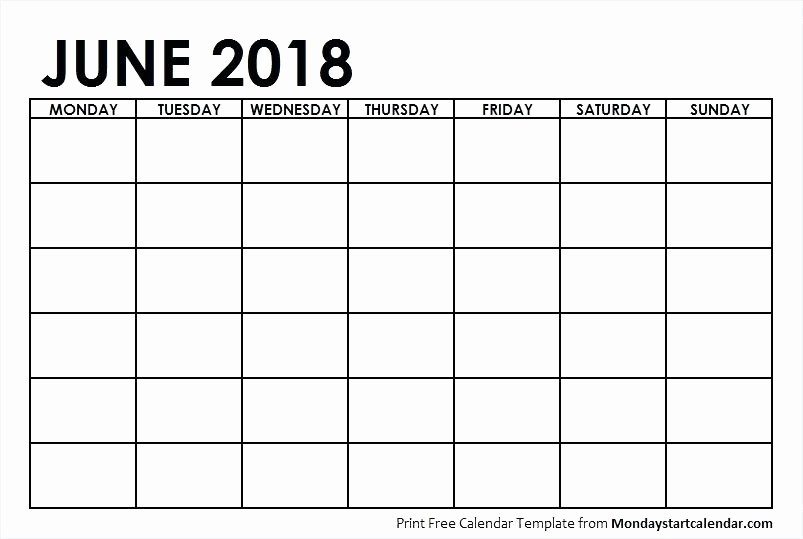 Blank Monday Through Friday Calendar Lovely Monday Friday Calendar Template Printable Weekly Through