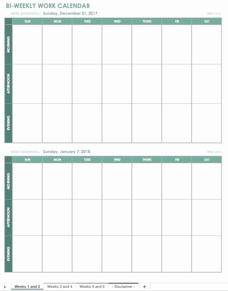 Blank Monday Through Friday Calendar Unique Template Blank Calendar Template Monday Through Friday