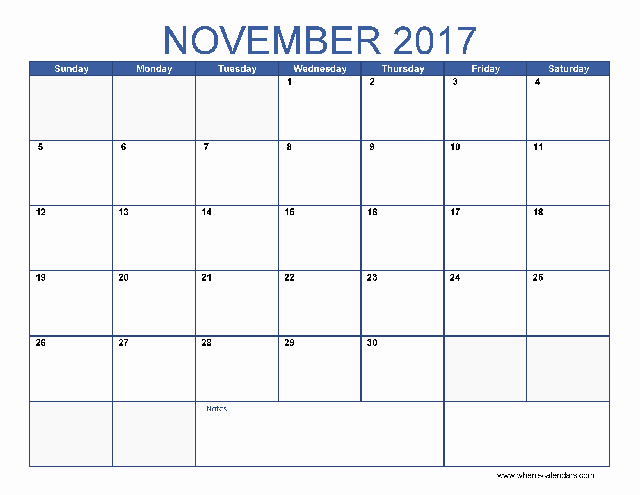 Blank Monthly Calendar 2017 Printable Best Of Blank November 2017 Calendar