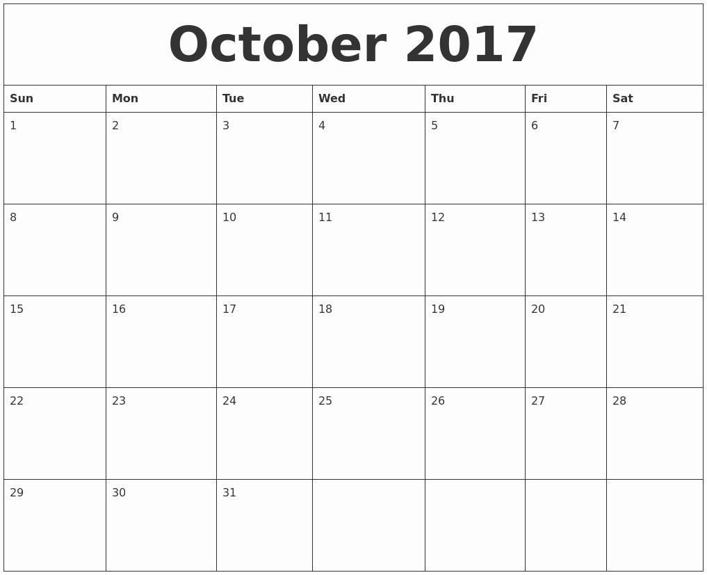 Blank Monthly Calendar 2017 Printable Unique July 2017 Calendar Month