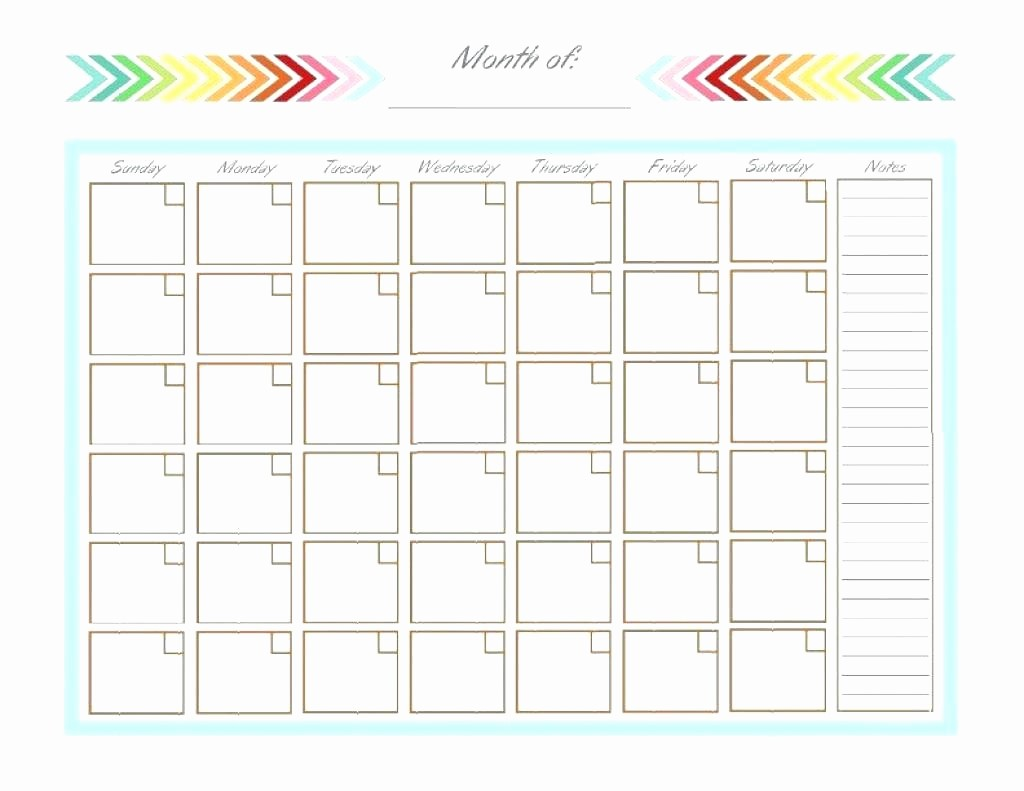 Blank Monthly Calendar Template Word Awesome Blank Monthly Calendar Template Word