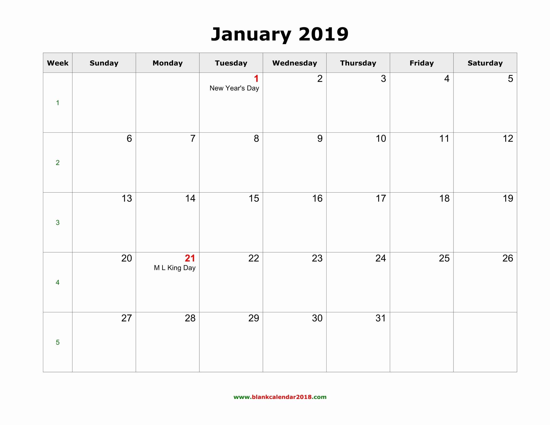 Blank Monthly Calendar Template Word Best Of Blank Calendar 2019