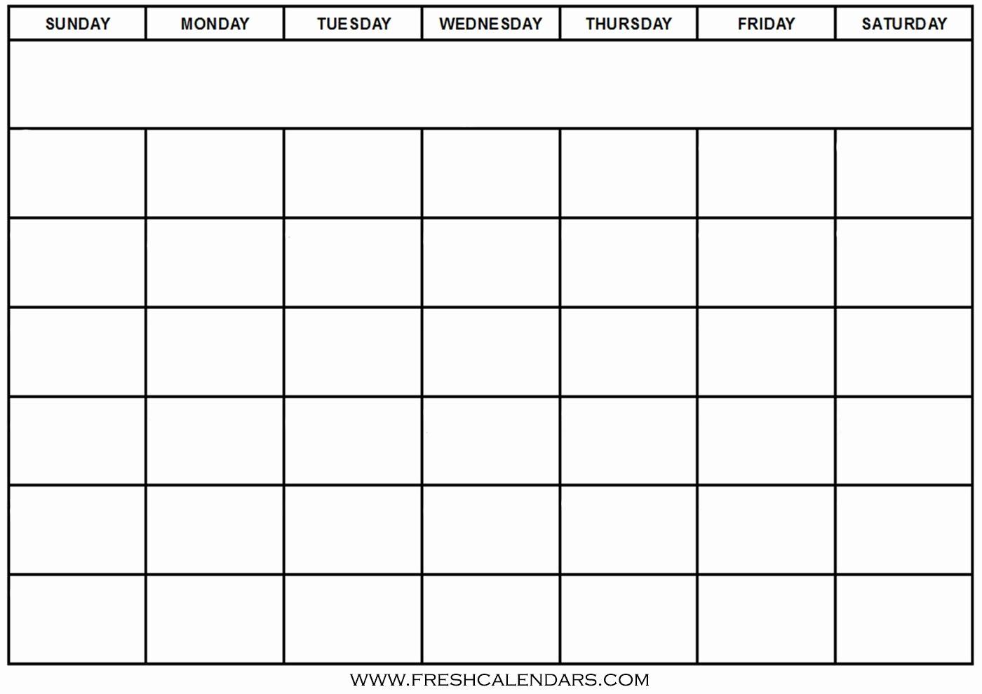 Blank Monthly Calendar Template Word Best Of Blank Calendar Wonderfully Printable 2019 Templates