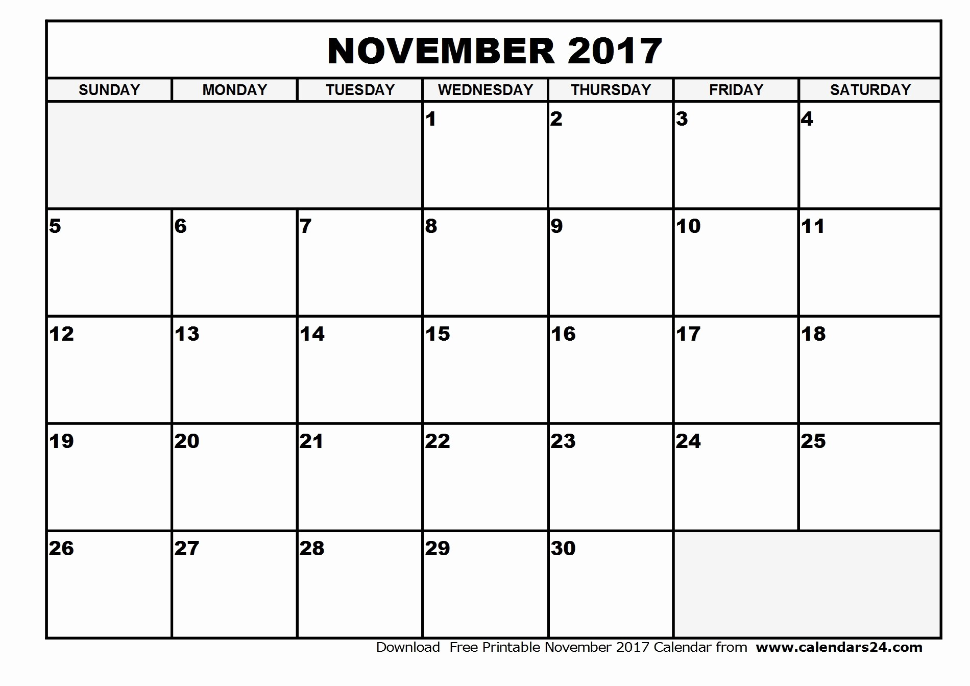 Blank November 2017 Calendar Template Best Of Blank Calendar November and December 2017 2018 Calendar