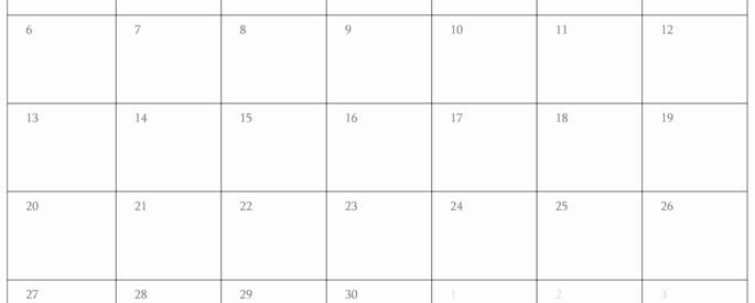 Blank November 2017 Calendar Template Lovely Free Editable Calendar Printable Calendar Template 2016