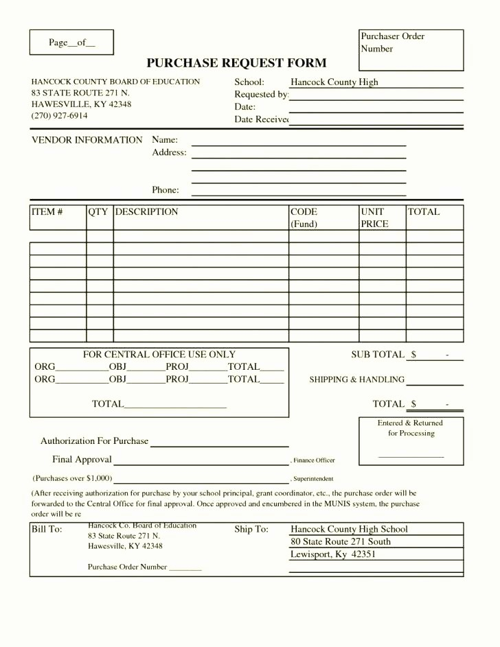 Blank order form Template Excel New Requisition form Excel Stationery Requisition form Excel