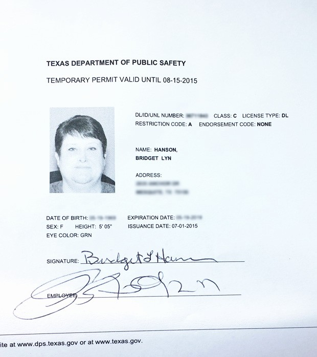 Blank P&l Statement Fresh Free Texas Temporary Drivers License Template – Free