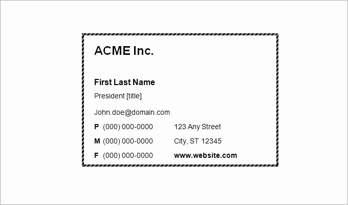 Blank Place Card Template Word Best Of Word Blank Business Card Template Beautiful Cards