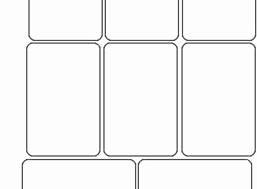 Blank Playing Card Template Word Awesome Printable Blank Playing Cards Template Spade Suit Two