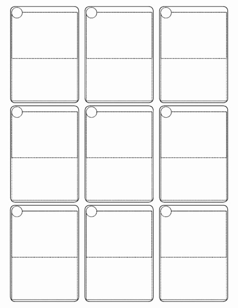 Blank Playing Card Template Word Best Of Pokemon Cards Template All