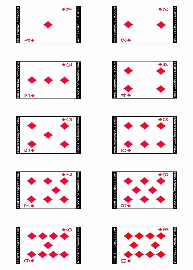 Blank Playing Card Template Word Fresh Best S Of Playing Card Templates for Word Playing
