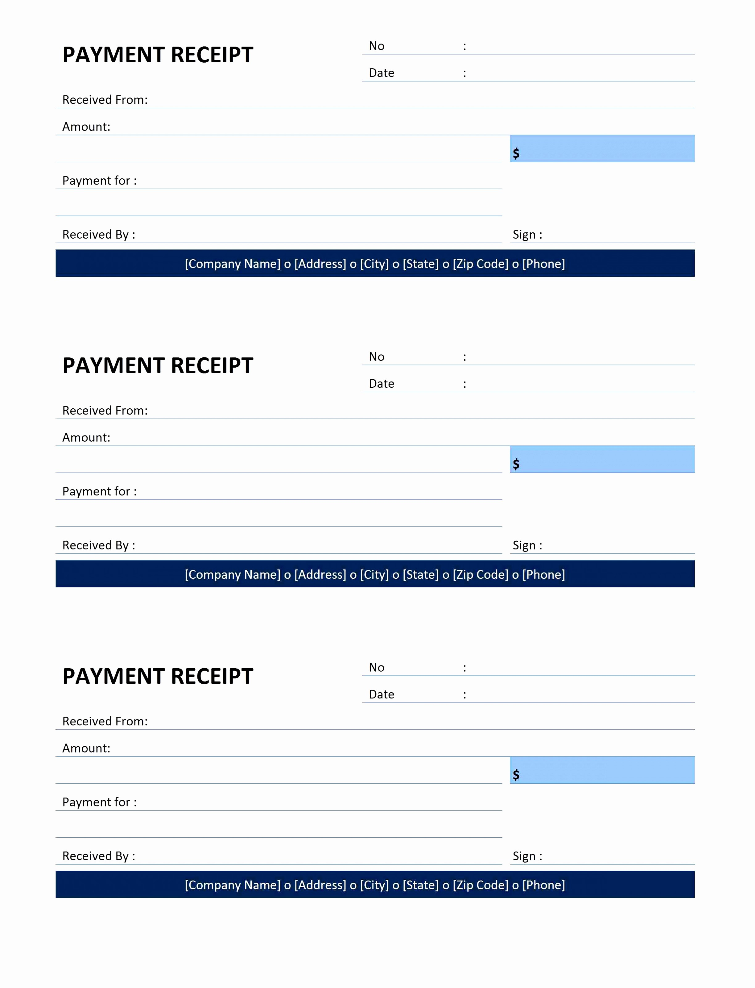 Blank Receipt Template Microsoft Word Awesome 10 Blank Receipt Template Microsoft Word Wurua