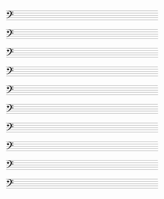 Blank Sheet Music Bass Clef Awesome Blank Sheet Music Piano and Voice Blank Sheet Music Bass