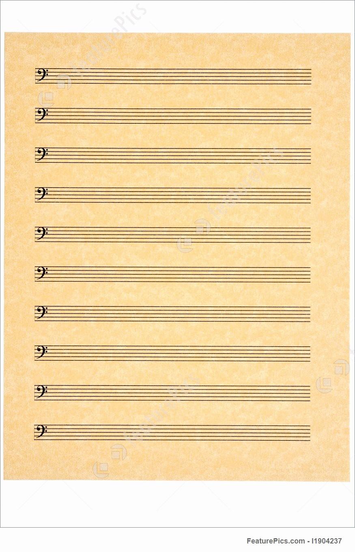 Blank Sheet Music Bass Clef Beautiful Picture Bass Clef Staves Blank Music Sheet