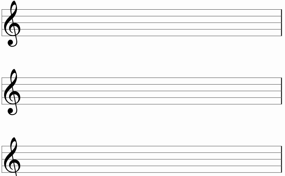Blank Sheet Music Bass Clef Fresh Printable Pdf Blank Bass Clef Staff Paper