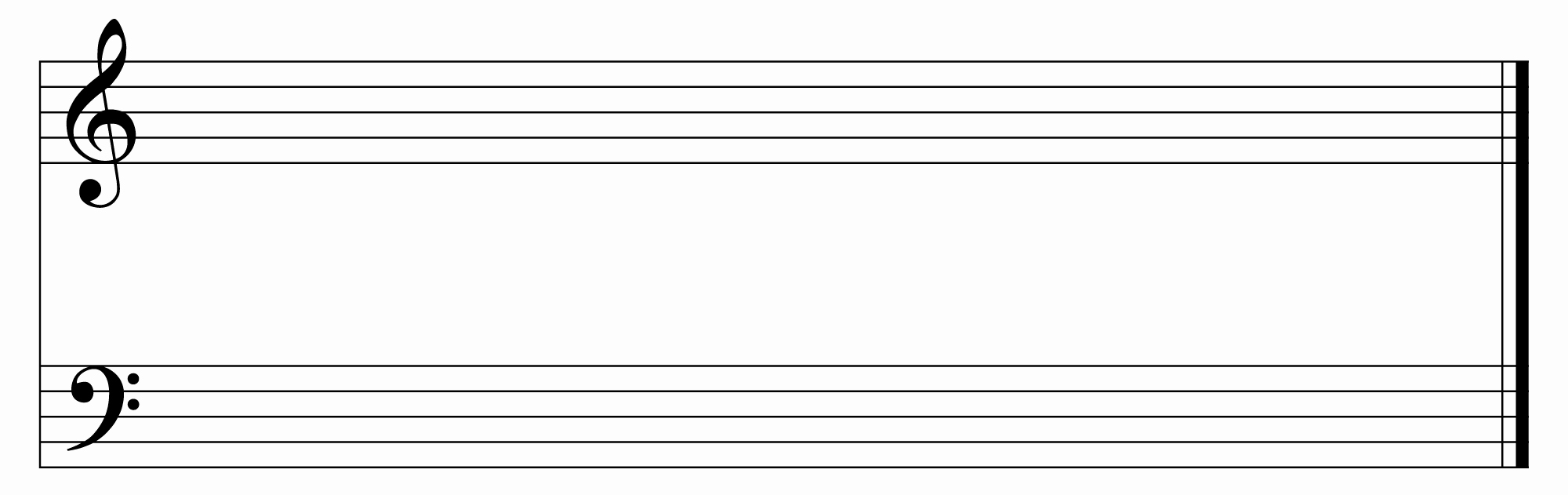 Blank Sheet Music Bass Clef Inspirational the Gallery for Blank Bass Clef Music Staff